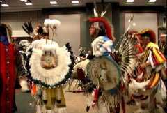 Native American dancing picture